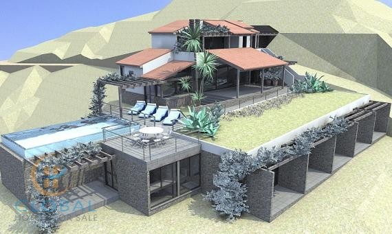 PLOT FOR SALE WITH PROJECT TO BUILD A LUXURY  B&B