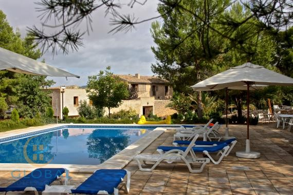 Nice Rural Hotel in a 230 year old farmhouse close to Alicante ( 40 min)
