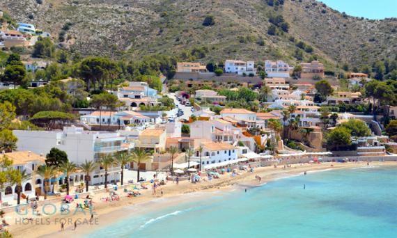 Finca Aparthotel in a coastal village on the Costa Blanca