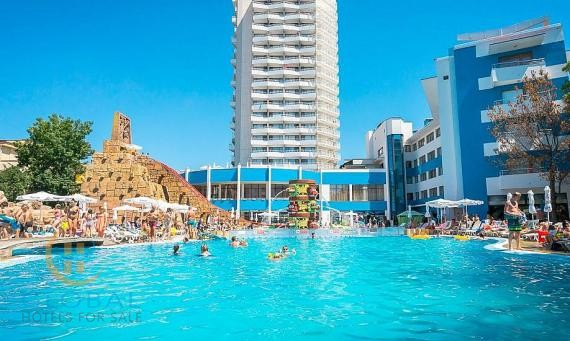 Fantastic 4* all-inclusive hotel complex with aquapark