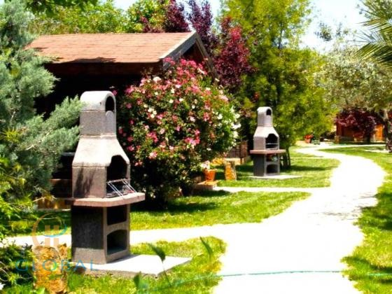 Wellness Spa Resort with wooden cabins / 20 min from the beach