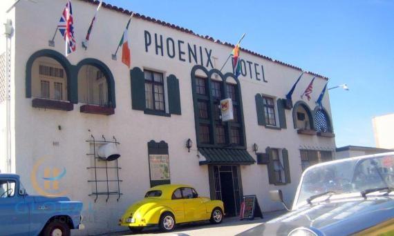 Old historic gem hotel in historical district of Port Elizabeth